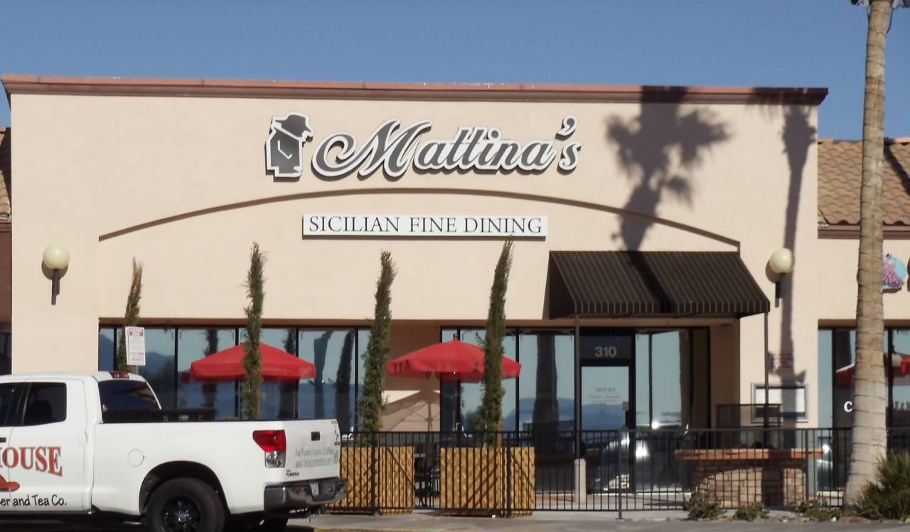 Experts installed custom fabrication at Mallina in Lake Havasu City