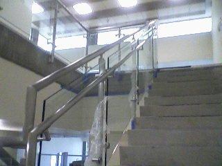Custom glass railing installed in Lake Havasu City