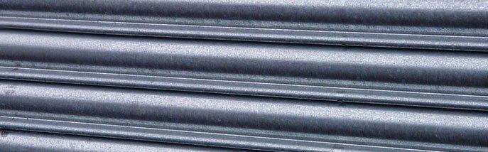 Industrial doors - Winchester - Britannia Security Shutters - Close up of industrial shutter