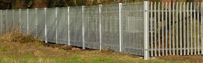 Palisade fencing - Hampshire - Britannia Security Shutters - Palisade fencing