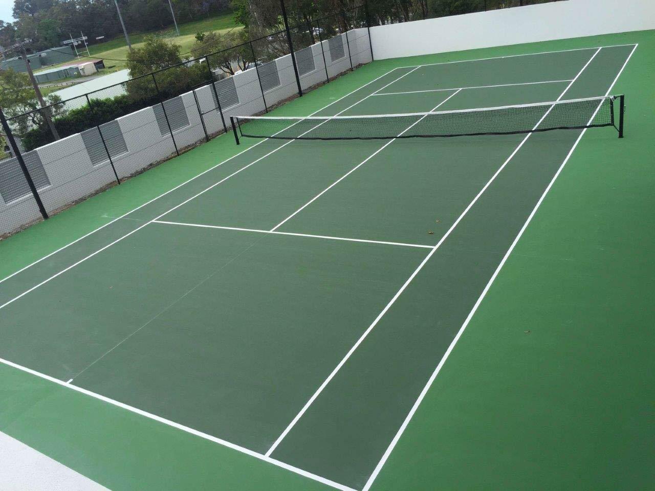 Combi Court Picture: Tennis Court Builders In Brisbane