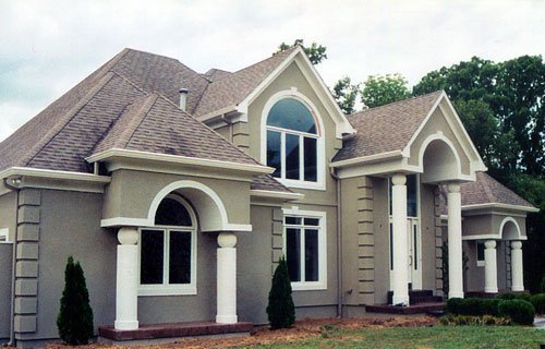 Exterior Insulation Finish System Or Eifs Dryvit Etc