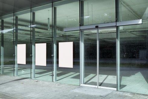 parete in vetro