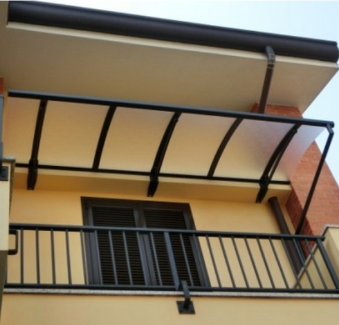tettoia per un balcone