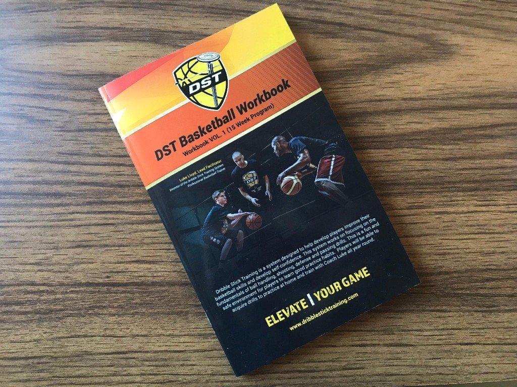 Dribble Stick Basketball Training System Workbook
