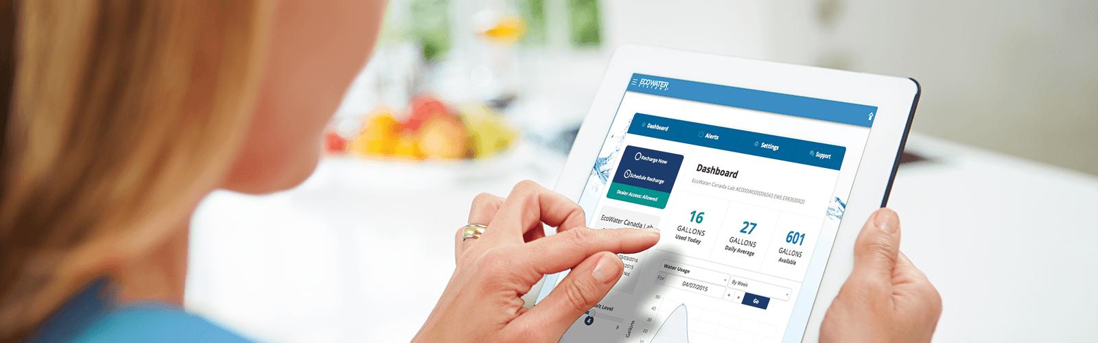 water monitoring app