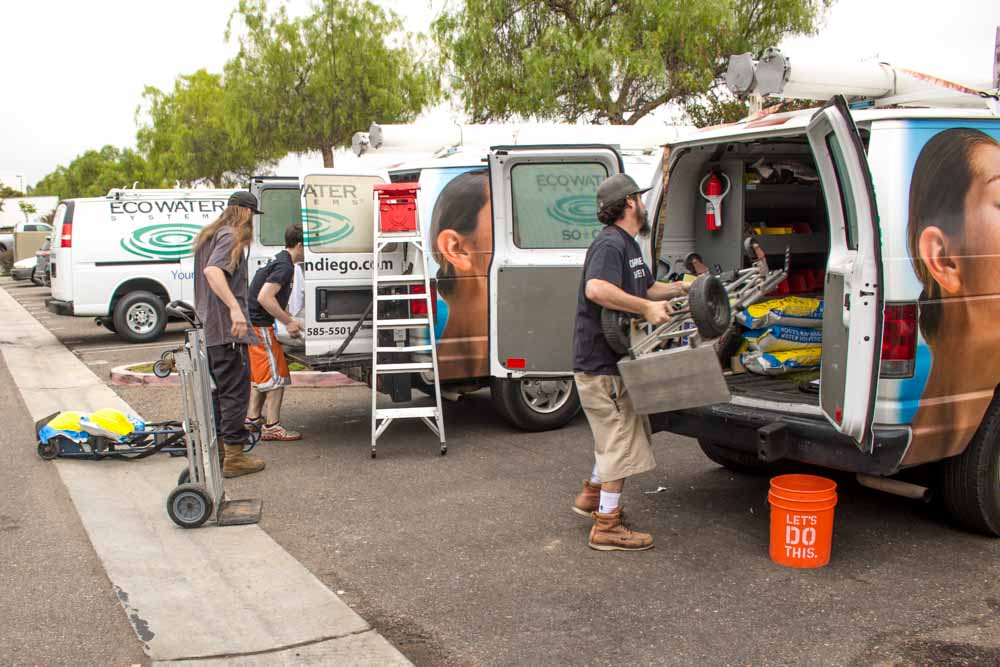 ecowater service crew
