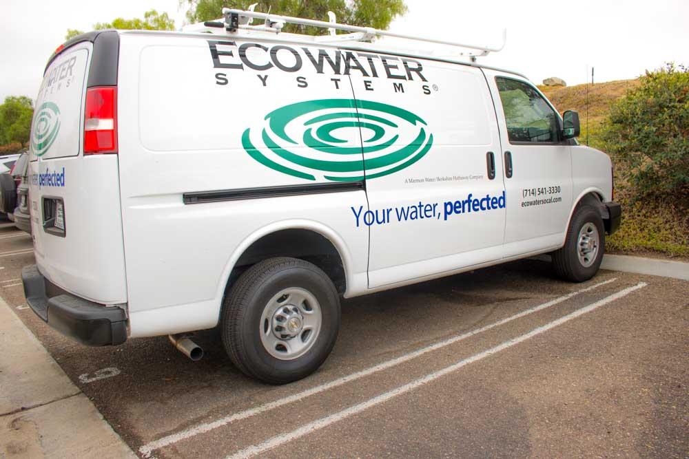 ecowater service van