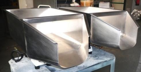 AISI 304 stainless steel hopper