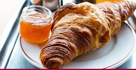 baked croissant