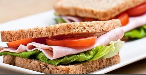 sandwich on granary bread