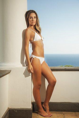 bikini bianco