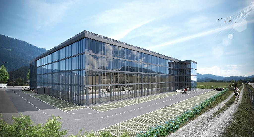 Neubau, Hamilton Ems AG