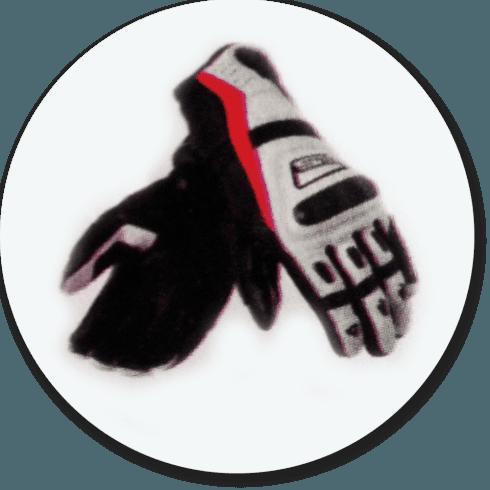 Sanificazione guanti da moto