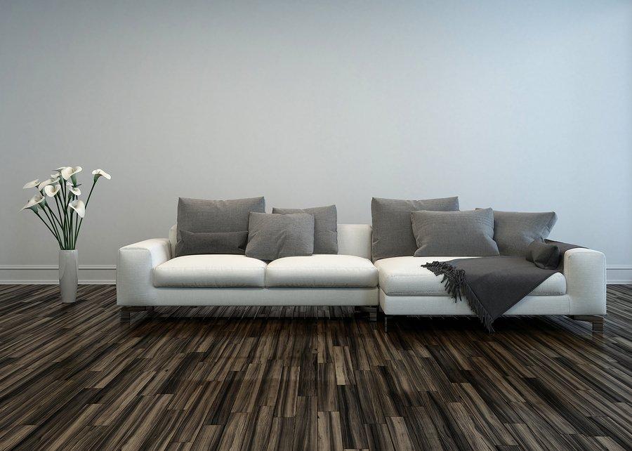 Laminate and hardwood stylish flooring