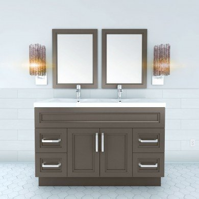 vanity with latest style and clean lines