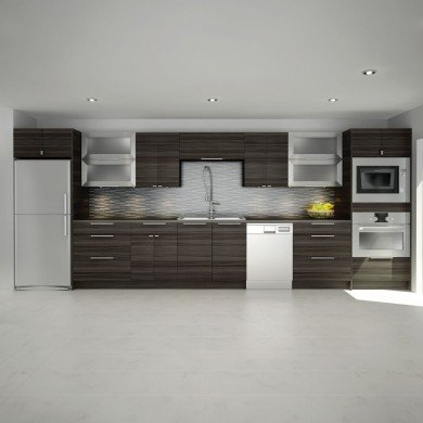 Kitchen with clean lines and a modern minimalist look