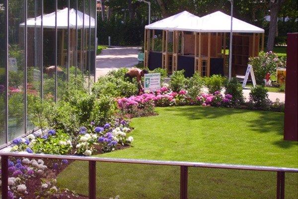 Teatro Torre del Lago lavori giardino