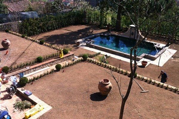 riprogettazione giardino storico