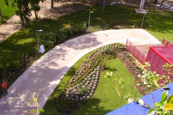 Teatro Torre del Lago progettazione giardino