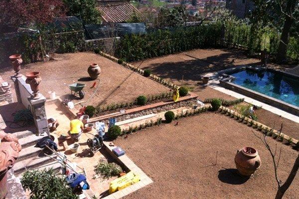 lavori giardino storico