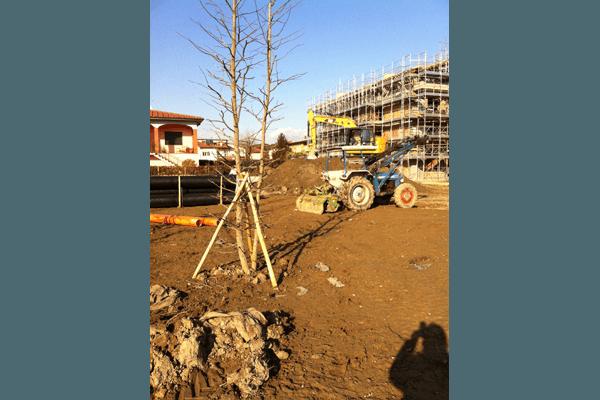 lavori terreno parchi privati