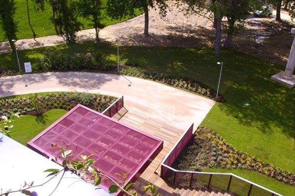 Teatro Torre del Lago sviluppo giardino