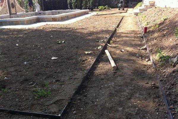 lavori messa a nuovo giardino