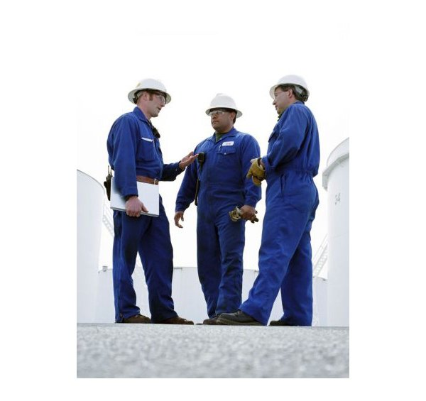 allstate safety products three guys standing