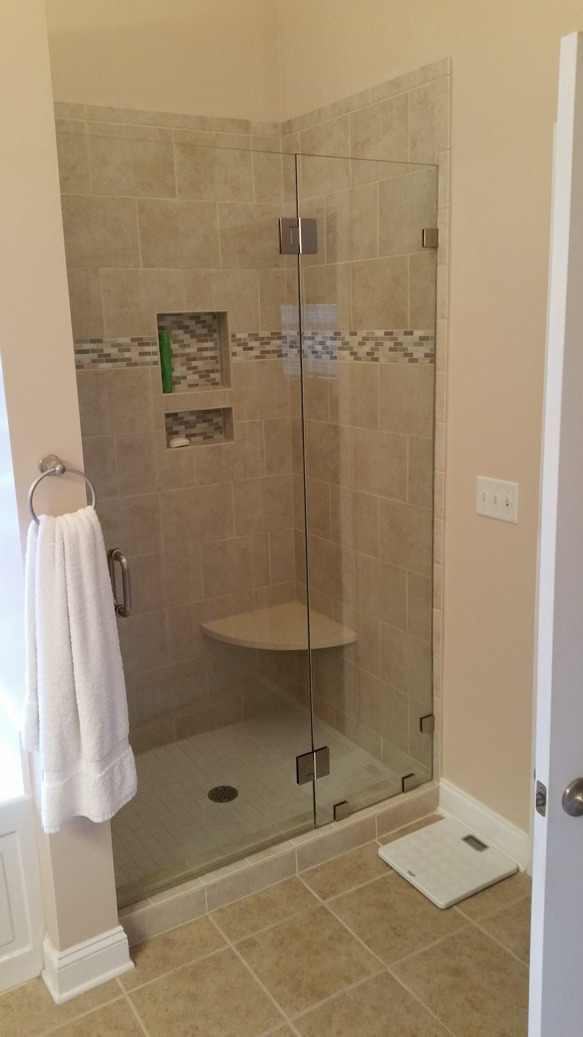 Frameless Shower Doors in Hampstead, NC | Registers Auto Glass
