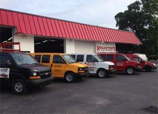 Registers Auto Glass Shop Wilmington, NC