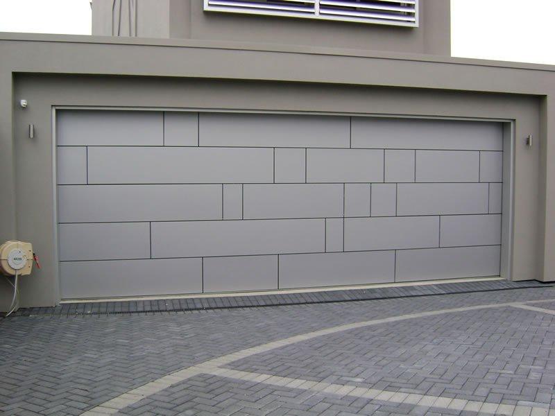 aluminum composite garage door