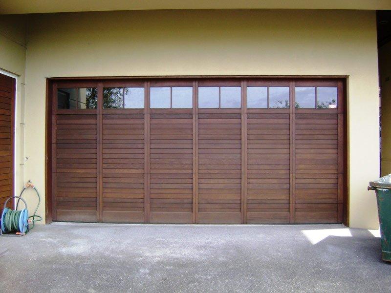 custom cedar garage door