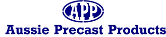 aussie precast products logo