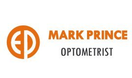 mark prince optometrist business logo