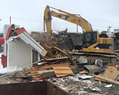 Demolition service in Cincinnati