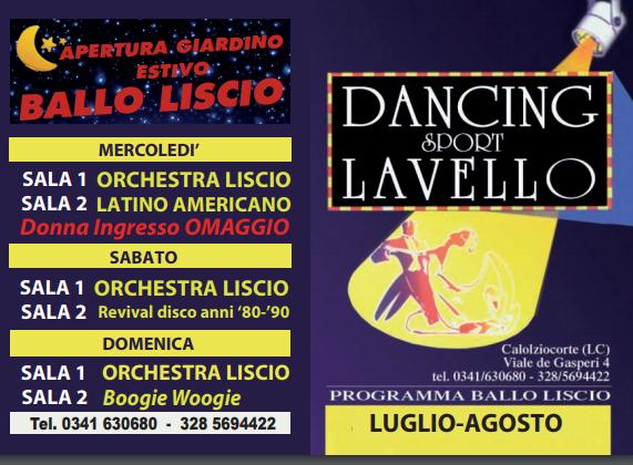 DANCING MAGGIO GIUGNO 2017