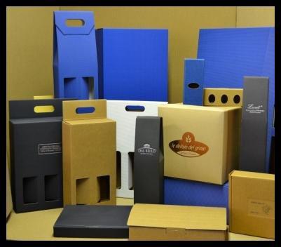 Casse di cartone per tutte le esigenze ,disegni e colori adatti al cliente