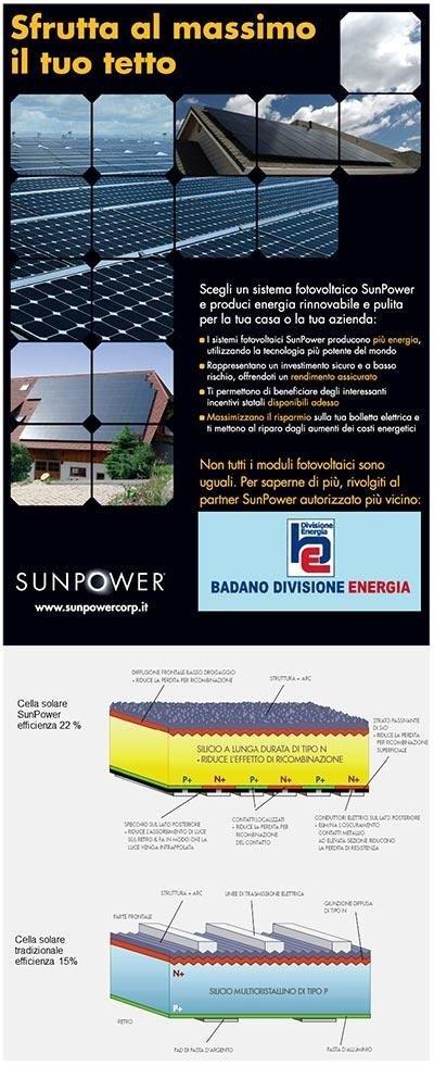 Sistema fotovoltaico Sunpower
