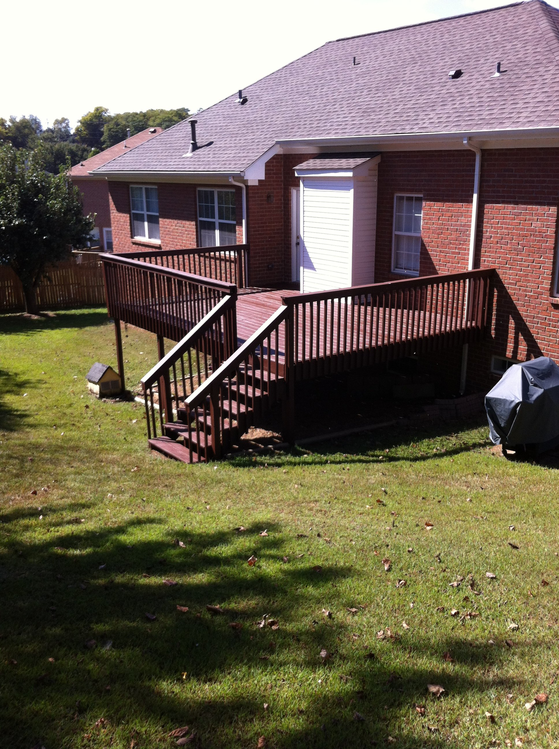 deck staining u0026 deck cleaning company locally owned quality