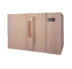 sauna forma rettangolare orizzontale