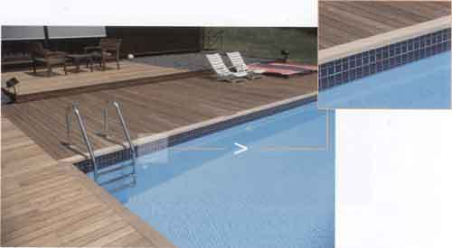 rivestimento piscina in mosaico