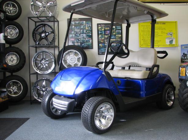 Highland golf carts for Yamaha golf cart id