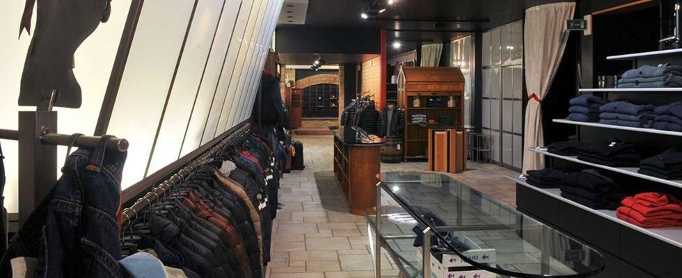 negozio vestiti pavia