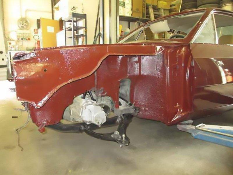 carrozzeria verniciatura auto d'epoca
