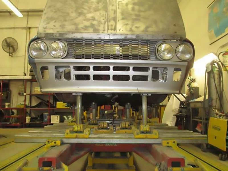 verniciatura auto d'epoca