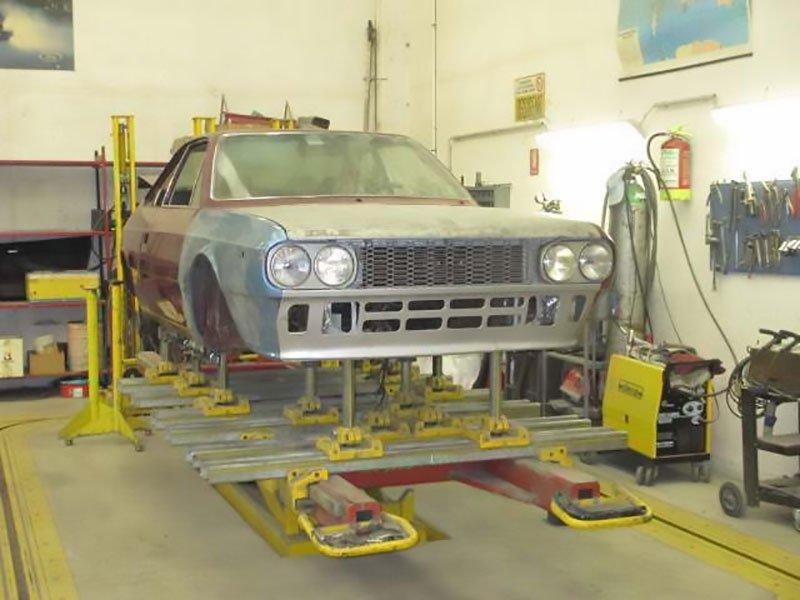 restauro verniciatura auto antiche