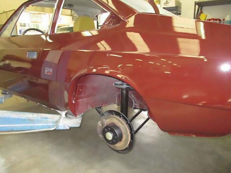 restauro verniciatura auto d'epoca