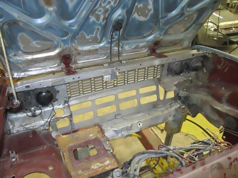 riparazione vano motore