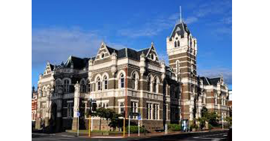 Dunedin building where our criminal lawyer works